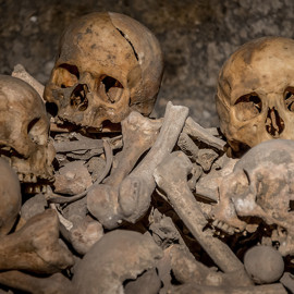 Tour of the catacombs